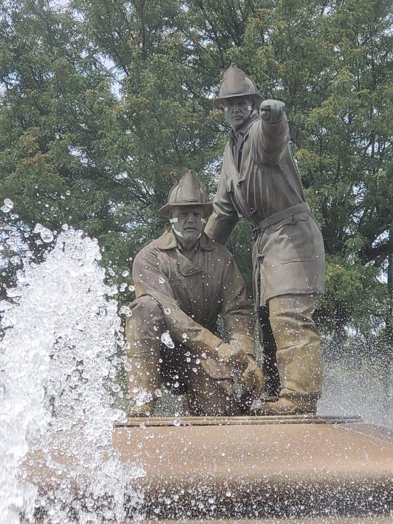 Firefighter Memorial Fountain