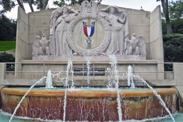eagle Scout memorial Fountain