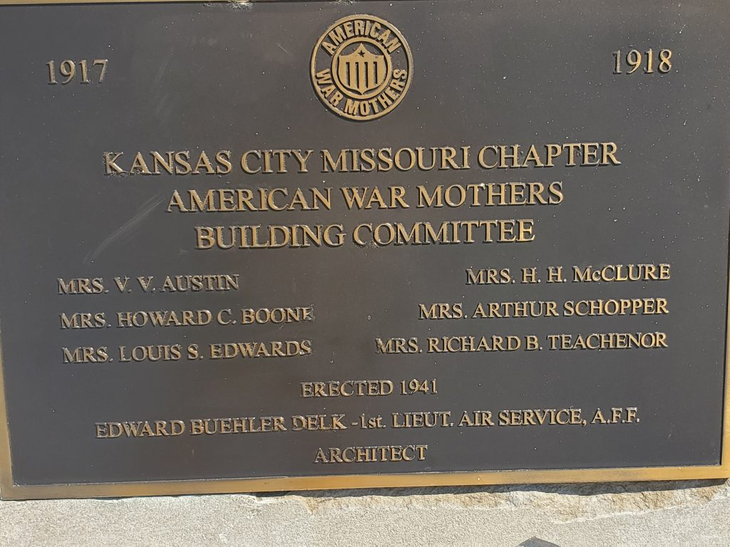 American War Mother's Memorial Fountain, KCMO