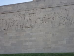 The Great Frieze Wall of Liberty Memorial KCMO