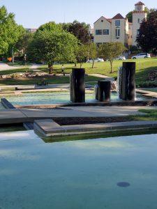 Vietnam Memorial Fountain, KCMO