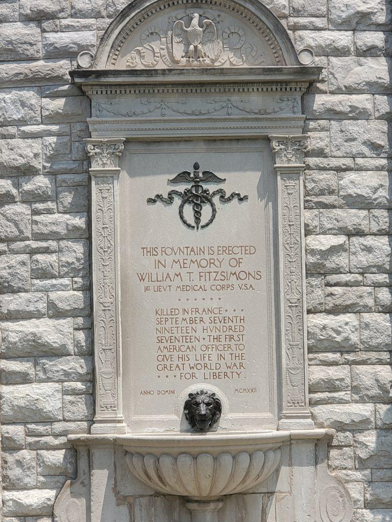 William Fitzsimmons Memorial Fountain, KCMO
